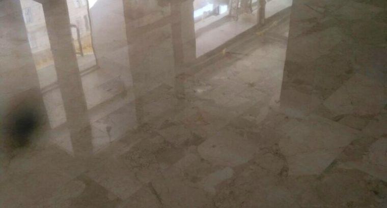 Шлифовка, полировка мраморных, гранитных полов, лестниц, стен, столешниц и др.