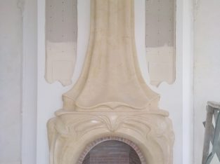 Ремонт / реставрация мраморных каминов