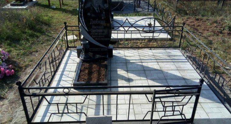 Благоустройство могильного участка