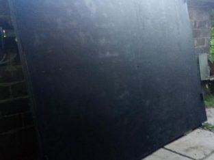 Ворота металлические, ворота глухие, ворота гаражные глухие 3*2,5h