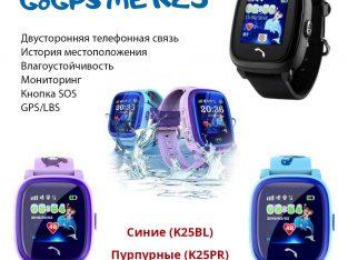 Смарт-часы влагостойкие GoGPS ME K25