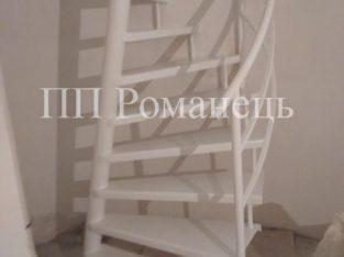 виготовлення гвинтових сходів з нахиленою віссю у Львові