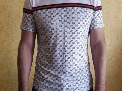 Футболка стиль GUCCI в обтяжку тенниска рубашка новая lacoste polo burberry Киев