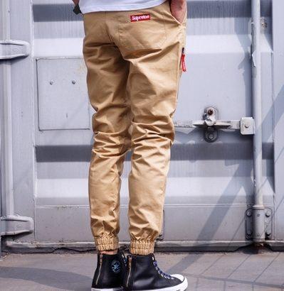 SUPREME джоггеры штаны брюки Jogger Pants чиносы на шнурке Киев ... 2381382d9ea52