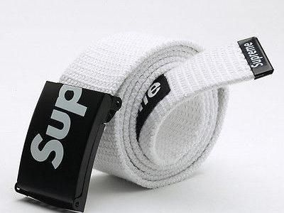 SUPREME американский бренд ремень НОВЫЙ тканевый Киев