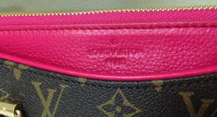 LOUIS VUITTON сумка Киев Украина клатч кросс боди LV M40908 розовый