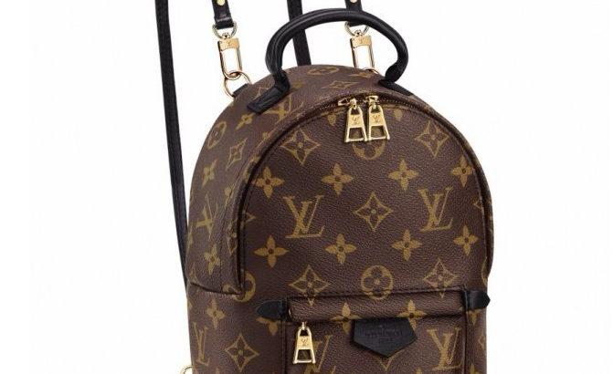 LOUIS VUITTON Palm Springs Киев Украина женский рюкзак сумка коричневый