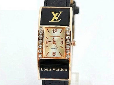LOUIS VUITTON часы Киев Украина женский браслет LV черный