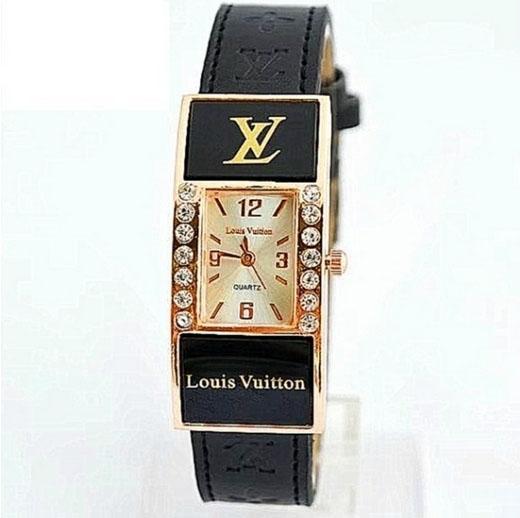 6cf3012395fb LOUIS VUITTON часы Киев Украина женский браслет LV черный | «Lux ...