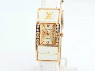 LOUIS VUITTON часы Киев Украина женский браслет LV белый