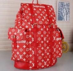 LOUIS VUITTON SUPREME рюкзак Киев Украина сумка CHRISTOPHER PM LV N41379 красный