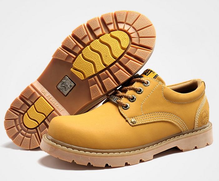CAT CATERPILLAR Киев Украина туфли мужские ботинки обувь цвет  желтый 270bc056723