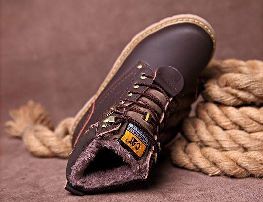 CAT CATERPILLAR Киев Украина ботинки на меху зима timberland обувь цвет: кофе