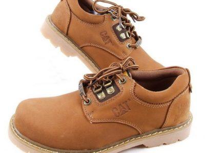 CAT CATERPILLAR Киев Украина туфли мужские ботинки обувь коричневые