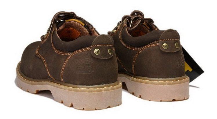 CAT CATERPILLAR Киев Украина туфли мужские ботинки обувь темно-коричневые