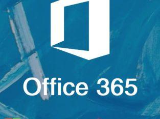 Microsoft Office 365 (подписка на 1 год)