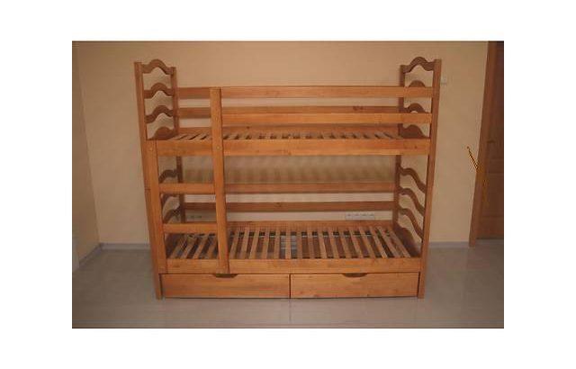 Двухъярусная кровать София с ящиками.