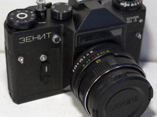 ЗЕНИТ ЕТ с объективом helios-44m-5