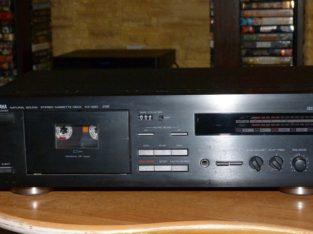 Продам ОТЛИЧНУЮ кассетную деку Yamaha KX-260 RS Natural Sound (1993) .