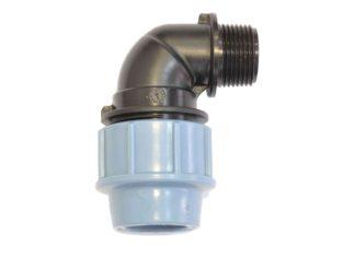 Фитинги зажимные/резьбовые для водопровода