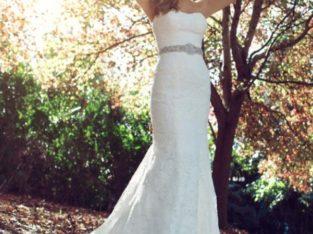 Новое красивое свадебное платье недорого