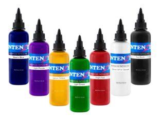Самая безопасная краска в мире — Intenze Tattoo Ink!