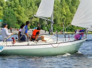 Прогулка на яхте — 400 грн/час