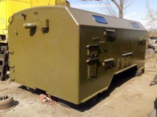 Кунг, демонтируемый с автомобиля КАМАЗ, конверсия двухсекционный утеплённый