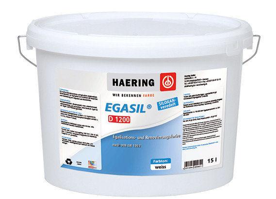 Краска матовая для фасадных работ Haering Egasil D 1200 Германия