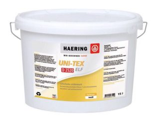 Краска матовая Haering Uni-Tex Elf D 2520 Германия 2,5 л