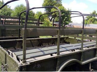 Кузов демонтированный с автомобиля ГАЗ-66, металлический
