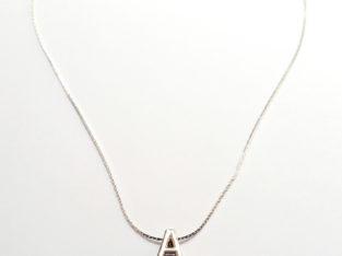 Ожерелье колье намисто подвеска цепочка кулон медальон амулет оберег уникальный подарок серебро ланцюжок личная буква «А»
