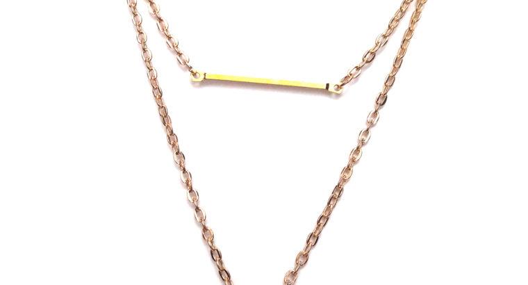Прелестное ожерелье колье намисто подвеска тройная цепочка кулон медальон амулет оберег для подарка золото ланцюжок