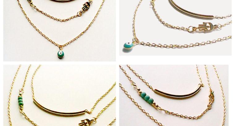 Необыкновенное ожерелье колье намисто подвеска цепочка кулон медальон амулет оберег для подарка золото ланцюжок