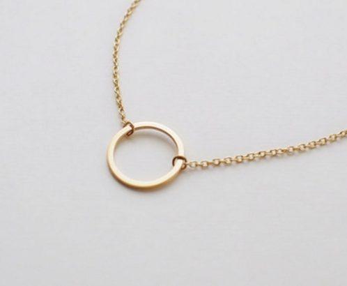 Очаровательное ожерелье колье намисто подвеска тройная цепочка кулон медальон амулет оберег для подарка золото ланцюжок