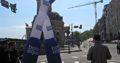 Аэромены — надувные танцующие человечки. Неподвижные человечки