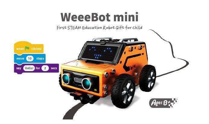 Конструктор WeeeBot mini STEM Robot V2.0