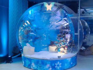 Прозора сфера, диво куля, шоу куля, snow globe українське виробництво