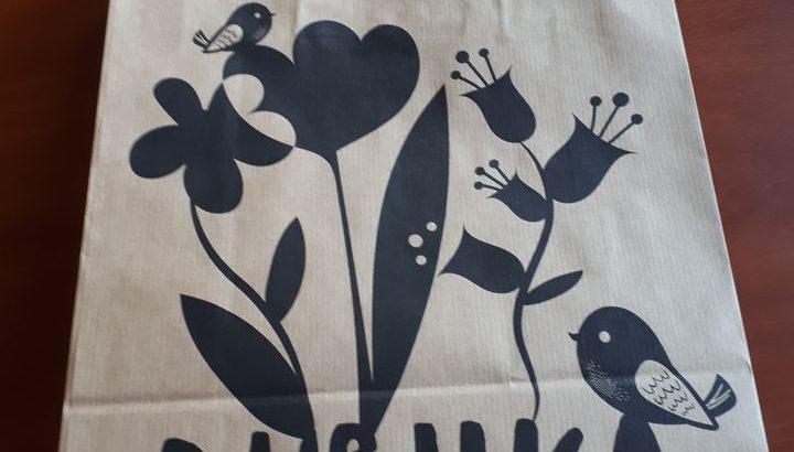 Изготовление крафт пакетов с логотипом
