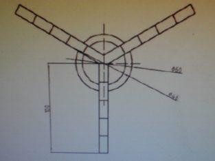 Чертежи Малогабаритная буровая установка Термит