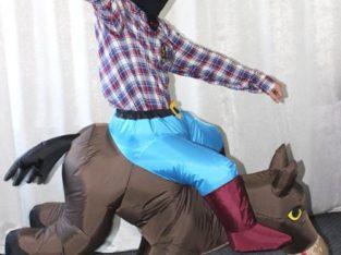 Пневмокостюм Ковбой на коні